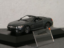 MERCEDES BENZ SL Spider 2012 Selenite Grey SPARK 1/43 Ref B66960532