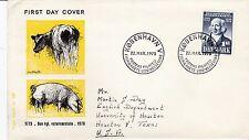 First day cover, Denmark, Scott #519, Royal Veterinary College, 1973