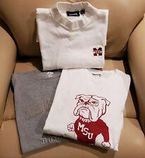 Mississippi State University - 3 shirts size XXL