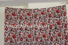 2.5 Yard Cotton Voile Hand Block Print Fabric Natural Dyes Sanganer row printed