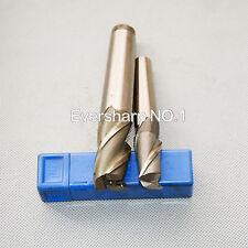 New listing 4Flute Hss Morse Taper Shank End Mills Cutting Dia 25mm Morse Taper 3# Shank