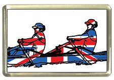Union Jack Rower Fridge Magnet - Best of British Sport