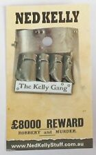 79014 NED KELLY STUFF COLLECTABLE PIN BADGE 14 of 20 THE KELLY GANG HELMETS