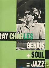 RAY CHARLES GENIUS+SOUL=JAZZ IMPULSE