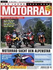 M0312 + Vergleich YAMAHA TDM 900 vs. BMW R 1150 GS und andere + MOTORRAD 12/2003