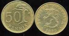 FINLANDE 50 pennia 1970