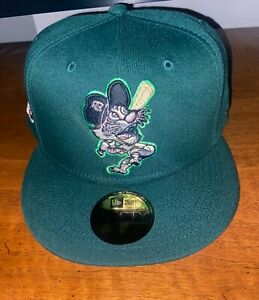 Exclusive Fitted Coked Out Detroit Tigers Green Pink Brim - 7 5/8,  8