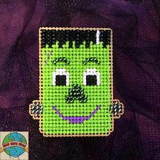 """Cross Stitch Kit ~ Halloween Frankenstein """"Frankie"""" Buddy #K027"""
