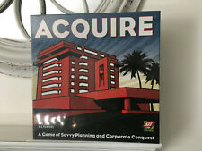 Acquire A Game Of Savvy Planning And Corporate Conquest NEW Sealed
