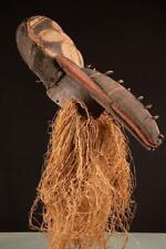 7044 Afrikanische Alte Bambara Helmmaske Mali Africa / Afrika