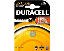 1 X Duracell 371 Sr920sw Silver Oxide Watch Battery 1.55v