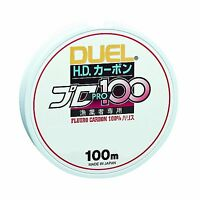 Yo-Zuri DUEL HD Carbon 100% Fluorocarbon Leader line BRAND NEW - MADE IN JAPAN