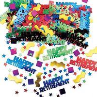 Rocking Retirement Multi Metallic Mix Confetti 14g Celebration Table Sprinkles