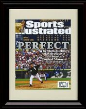 Framed Mark Buerhle Sports Illustrated Autograph Replica Print - Perfect Game...