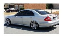 Mercedes Benz W211 Rear Trunk Spoiler 3 pcs MB Style AMG Brabus Wing Lip Dip MB