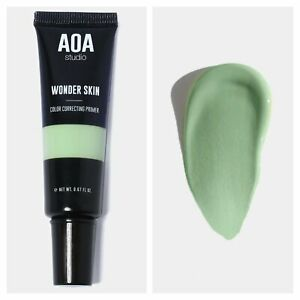 AOA Studio ❤️ Face Primer COLOUR CORRECTING Wonder Skin GREEN - Free Shipping