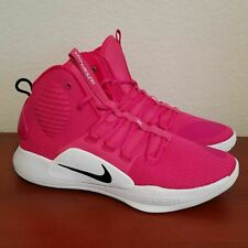 Nike Hyperdunk X TB Kay Yow Vivid Pink Breast Cancer AT3866-609 Men's Multi Size
