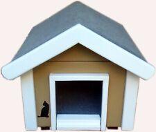 Outdoor Katzenhaus wetterfest Design-Modell Korsika Small - DS1-S