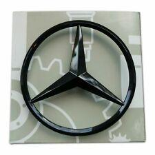 Mercedes C Class Coupe Gloss Black Badge Rear Boot Star C63 C43 AMG Emblem C205