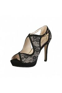 CLEARANCE SALE! Laura Biagiotti Style 421 – Cloth / Taupe Colour Heels