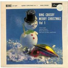 "Bing Crosby - Merry Christmas Vol.1 - 7"" Vinyl Record EP"