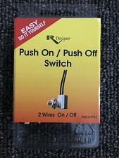 RV Designer Collection S751 Push On Push Off Switch 10A SPST