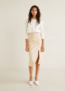 MNG Suit, Camisa Voge Women's L/Sleeve, Patch Pocketed, White, NWT, RRP$99.95
