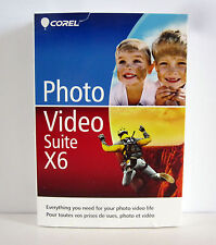 Corel Photo Video Suite X6 English/French Retail