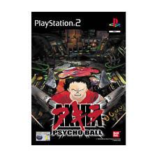 Akira Psycho Ball simulador pinball de Bandai para la Sony PS2 usado completo