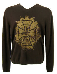 NEW $335 Neiman Marcus Cashmere Sweater!  4 Colors  Modern Designs  Slim Fit