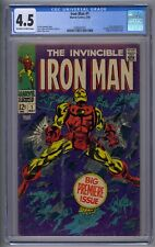 IRON MAN #1 CGC 4.5 ORIGIN RETOLD