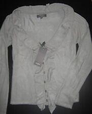 maglia/cardigan/giacca CAMOMILLA ITALIA-42/S/I SMALL-grigio chiaro-100% acrilico