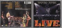 Twisted Sister  - Live at Hammersmith '84 (CD, Aug-2001, 2 Discs, Spitfire Recor