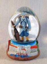 Boule de Neige de collection Poilu de la Grande Guerre - Verdun