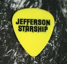 JEFFERSON STARSHIP // Cathy Richardson Tour Guitar Pick // Yellow/Black