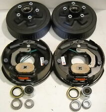 Add Trailer Brakes Basic Dexter 5x4.5 3500# Drums Genuine Dexter Backing Plates
