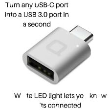nonda USB-C to USB 3.0 Adapter MacBook Pro 2019/2018,MacBook Air 2018,Surface Go