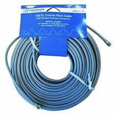 Winegard 100 Feet of RG-6 75 OHM Coaxial Cable (CX-6100)