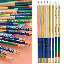 8Pcs/Lot Set Rainbow Color Pencil 4 in 1 Colored Drawing Painting Pencils New