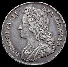 More details for george ii, 1727-1760. halfcrown, 1741. decimo qvarto edge.