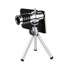12X Zoom Optical Telescope Camera Lens + Mini Tripod & Case for iPhone 6 Plus