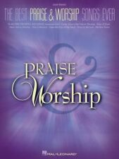 """""""THE BEST PRAISE & WORSHIP SONGS EVER"""" EASY PIANO MUSIC BOOK BRAND NEW ON SALE!!"""