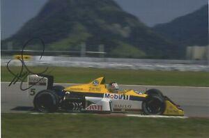 Nigel Mansell - British Formula 1 Racing Driver - Hand Signed Photograph