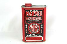 Marvel Mystery Oil One U.S. Pint Metal Oil Tin