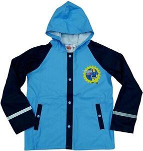 Fireman Sam - Hooded Rain Jacket / Waterproof Coat Anorak - 5 to 6 Years