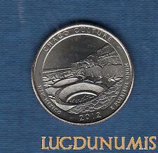 Etats Unis - Quarter Dollar  2012 New Mexico Chacao Culture série Parc Nationaux