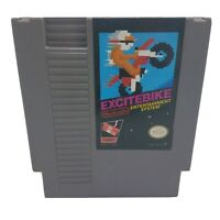 NES EXCITEBIKE - Cart Only - Cleaned & Tested - Nintendo Very Good Condition