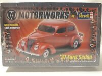 Revell Motorworks 37 Ford Sedan 1/24 85-0809 (FACTORY SEALED) FREE SHIPPING!!!!!