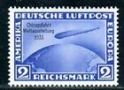 DR 1933 497 ** POSTFRISCH TADELLOS ZEPPELIN CHICAGOFAHRT ATTESTKOPIE 350€(09419