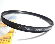 Digital Concepts 77mm UV Lens Filter For Sigma Tamron Canon Nikon Tokina Olympus